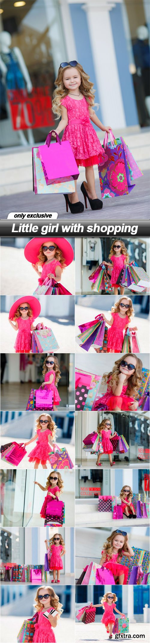 Little girl with shopping - 15 UHQ JPEG