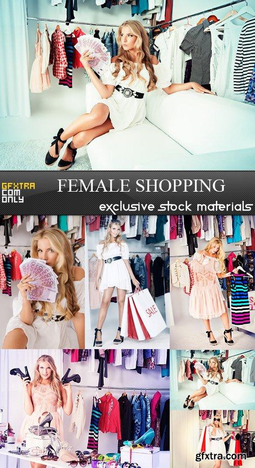 Female Shopping - 6 UHQ JPEG