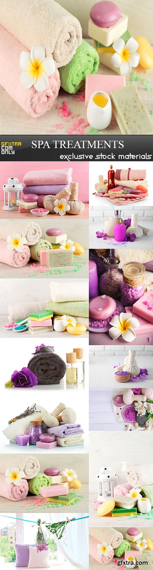 Spa treatments, 14 x UHQ JPEG