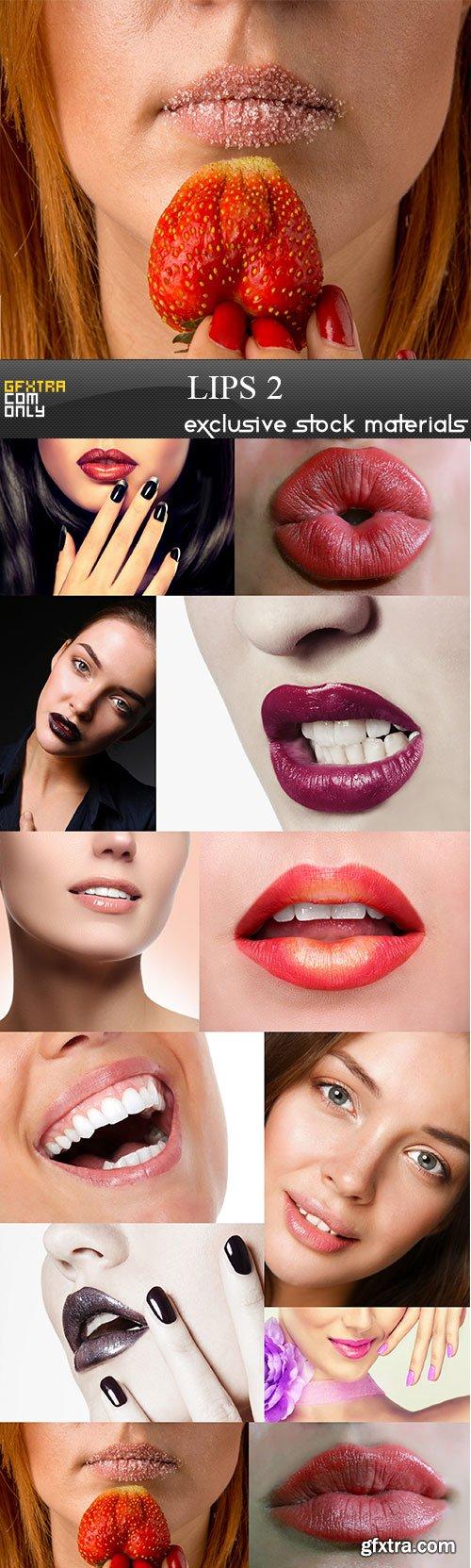 Lips 2, 12 x UHQ JPEG