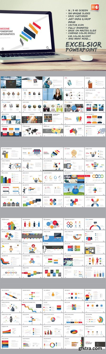 CM - Excelsior Powerpoint Template 501888