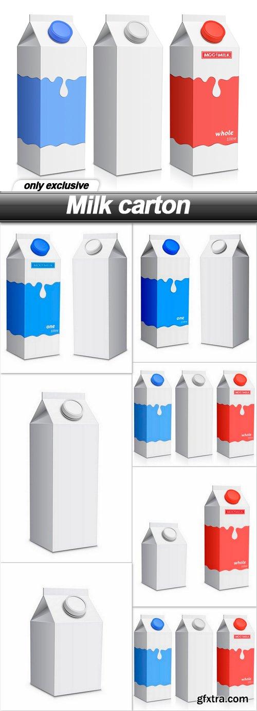Milk carton - 7 EPS