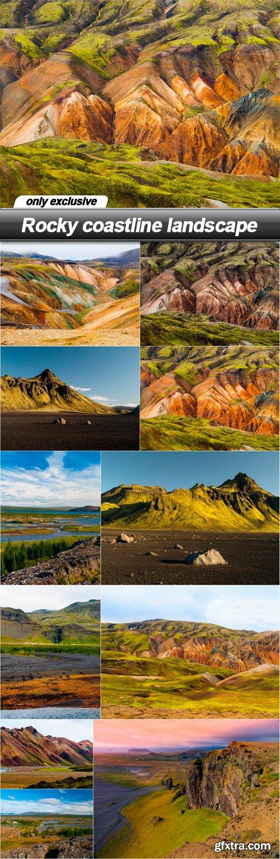 Rocky coastline landscape - 11 UHQ JPEG