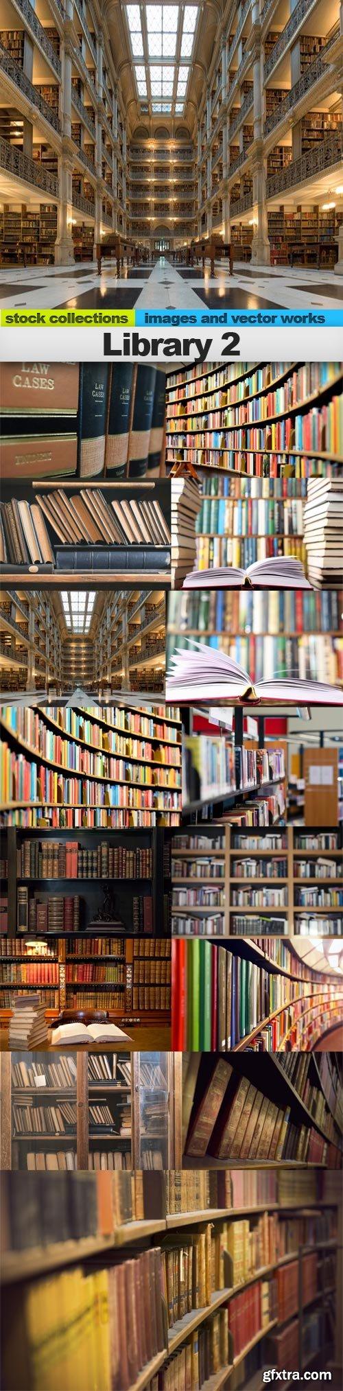 Library 2, 15 x UHQ JPEG