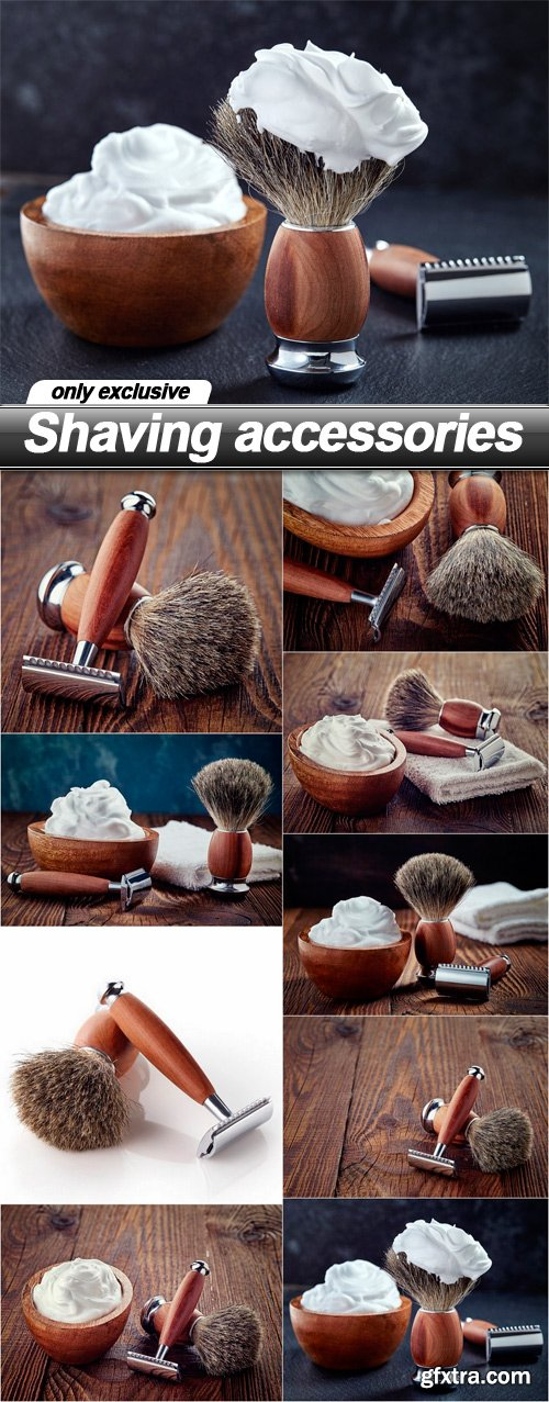 Shaving accessories - 9 UHQ JPEG