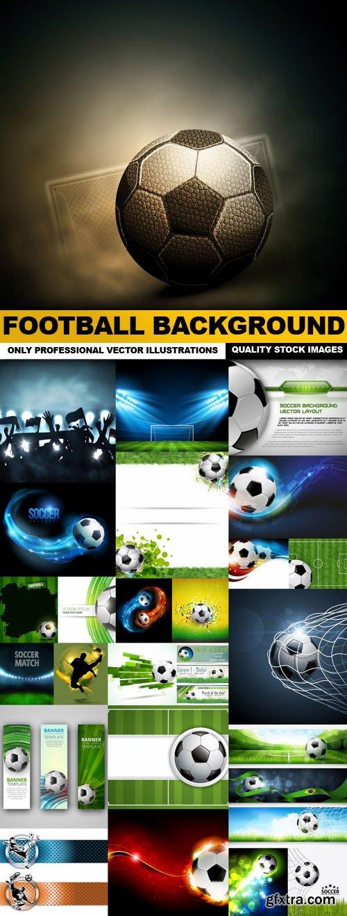 Football Background - 25 Vector