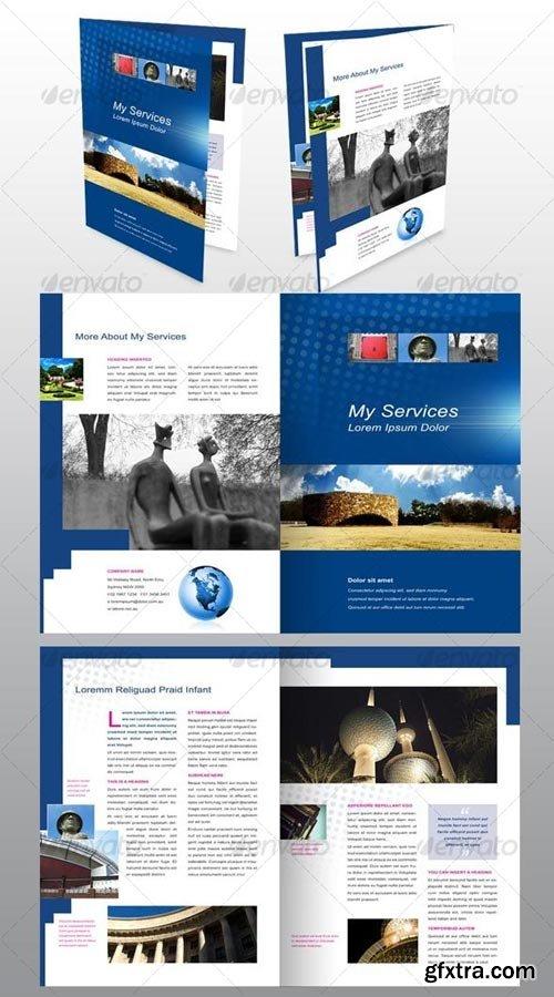 GraphicRiver - 4 page A4 Brochure, Modern, Design, Architecture - 51373