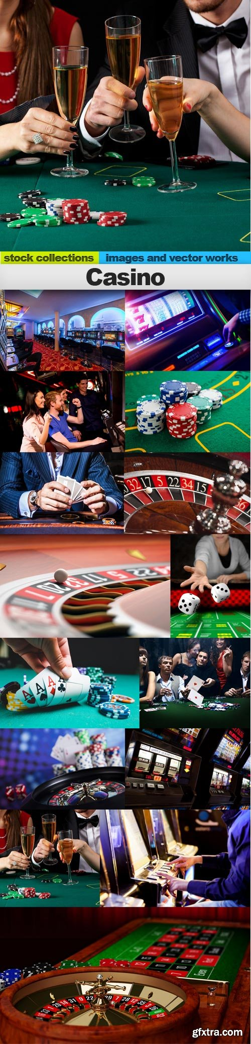 Casino, 15 x UHQ JPEG