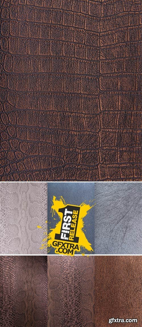 Stock Photo: Snake pattern imitation, background