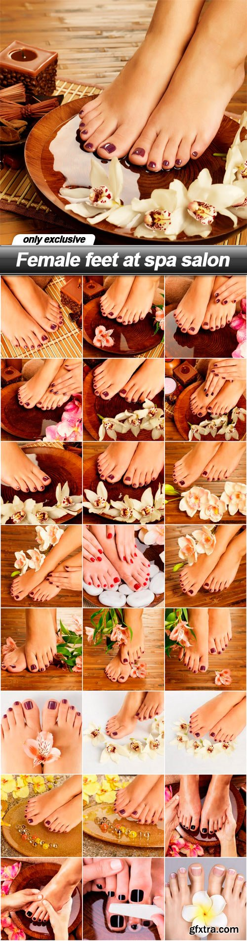 Female feet at spa salon - 25 UHQ JPEG