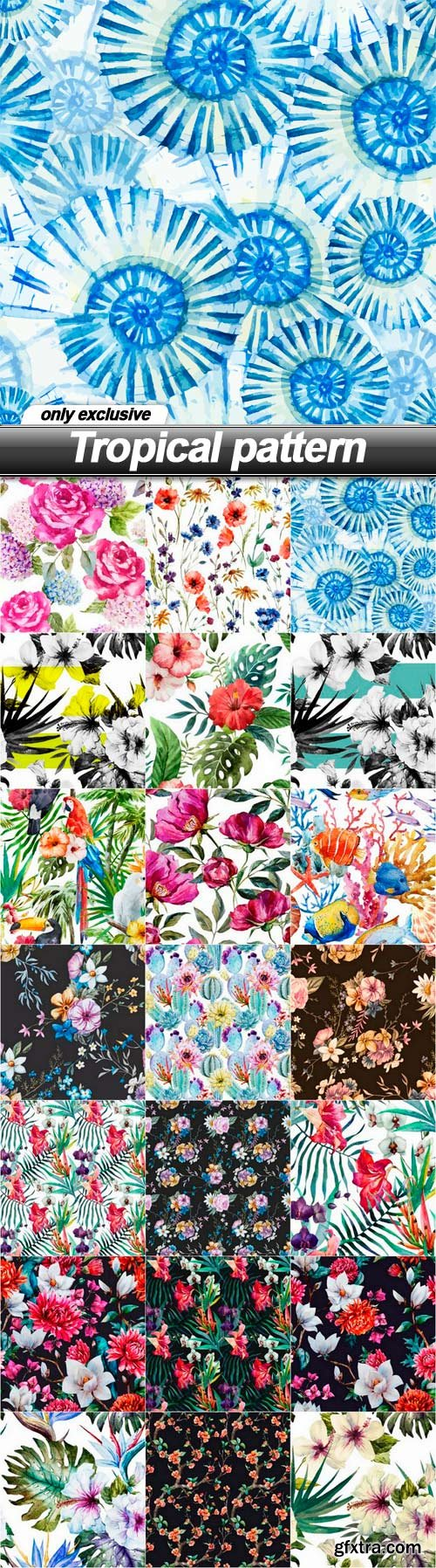 Tropical pattern - 21 EPS