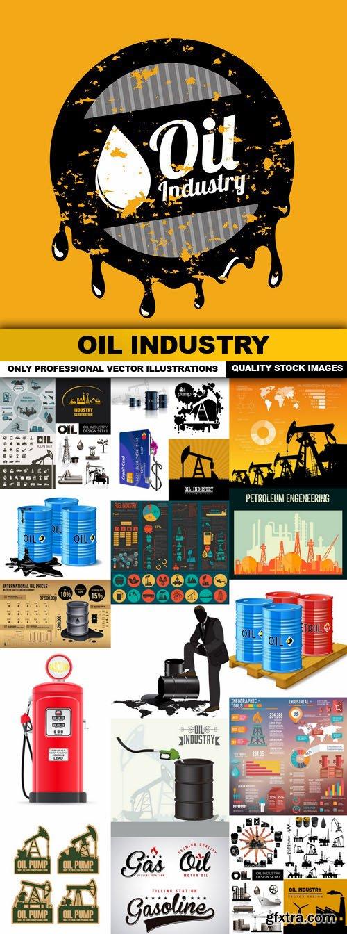Oil Industry - 25 Vector