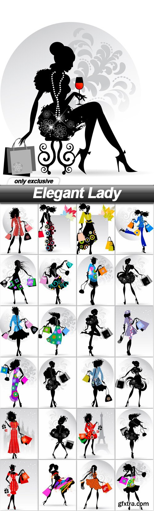 Elegant Lady - 25 EPS