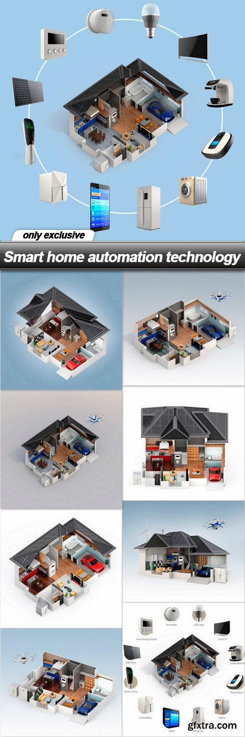 Smart home automation technology - 9 UHQ JPEG