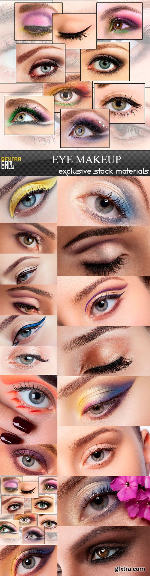 Eye makeup, 18 x UHQ JPEG