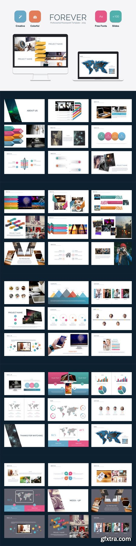 CM - Forever Powerpoint Template 507034