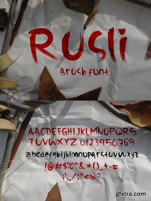 CM - Rusli Font 503428