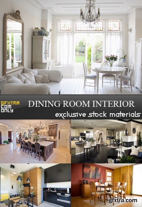 Dining Room Interior - 5 UHQ JPEG