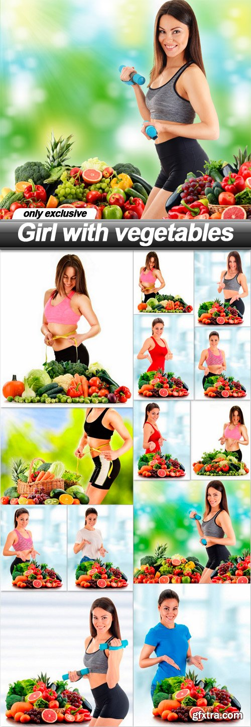 Girl with vegetables - 13 UHQ JPEG