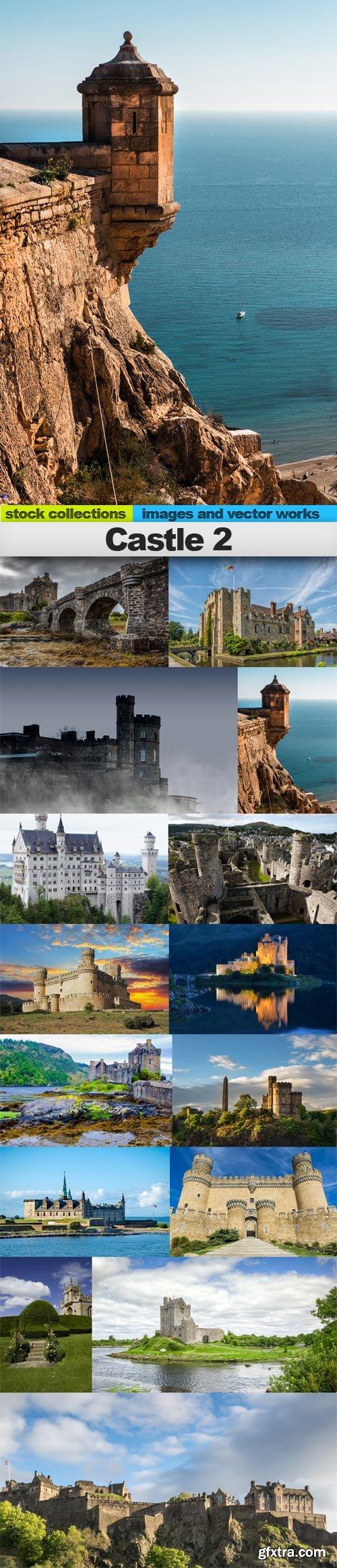 Castle 2, 15 x UHQ JPEG
