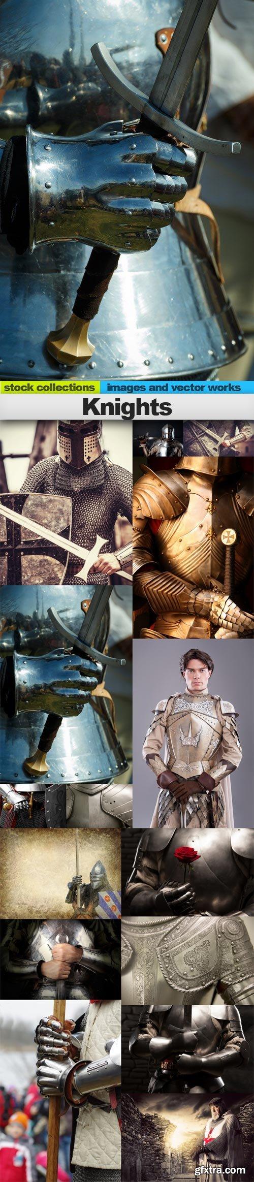 Knights, 15 x UHQ JPEG