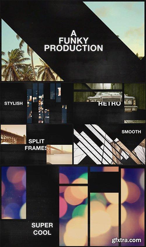 Videohive - 10771996 - Retro Split Frames Slideshow