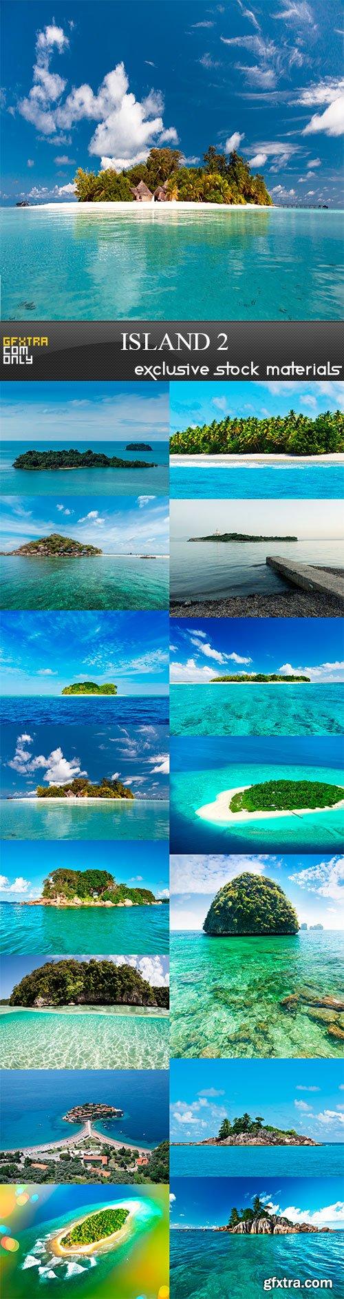 Island 2, 15 x UHQ JPEG