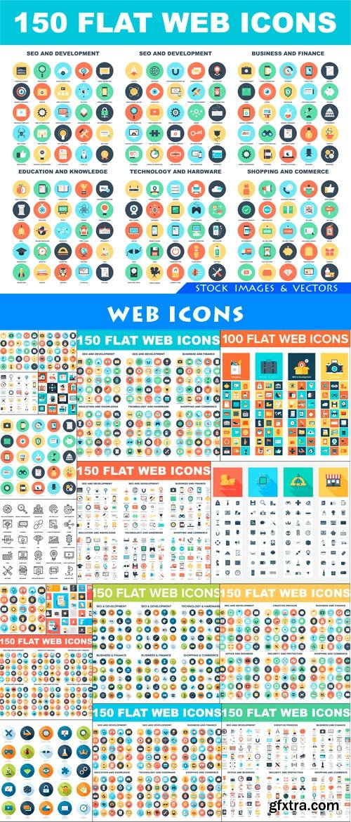 Web Icons 18X EPS