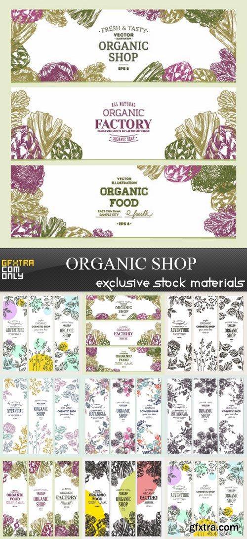Organic Shop - 9 EPS