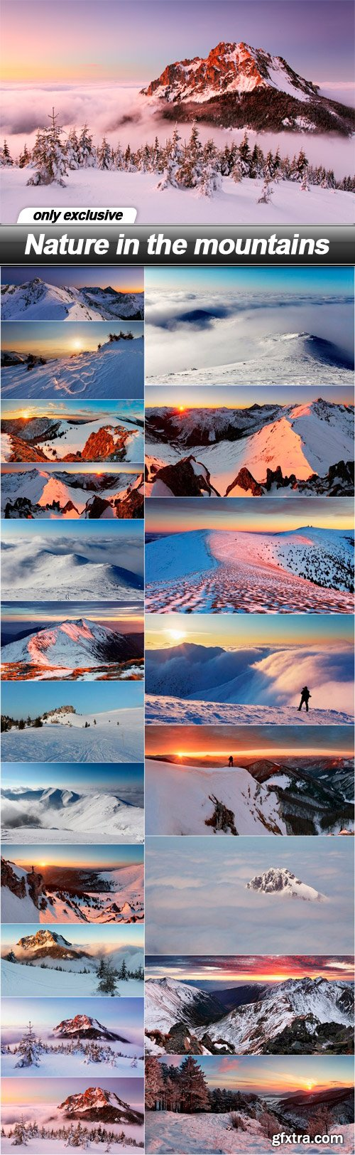 Nature in the mountains - 20 UHQ JPEG