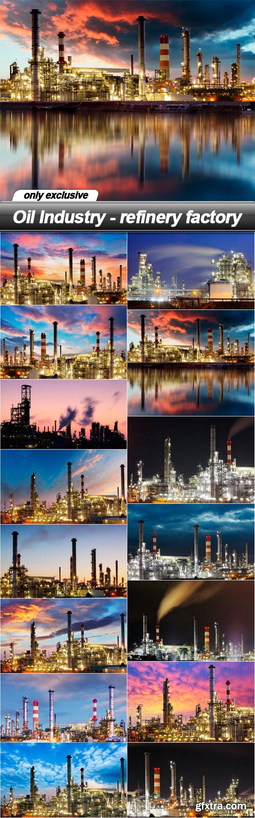 Oil Industry - refinery factory - 15 UHQ JPEG