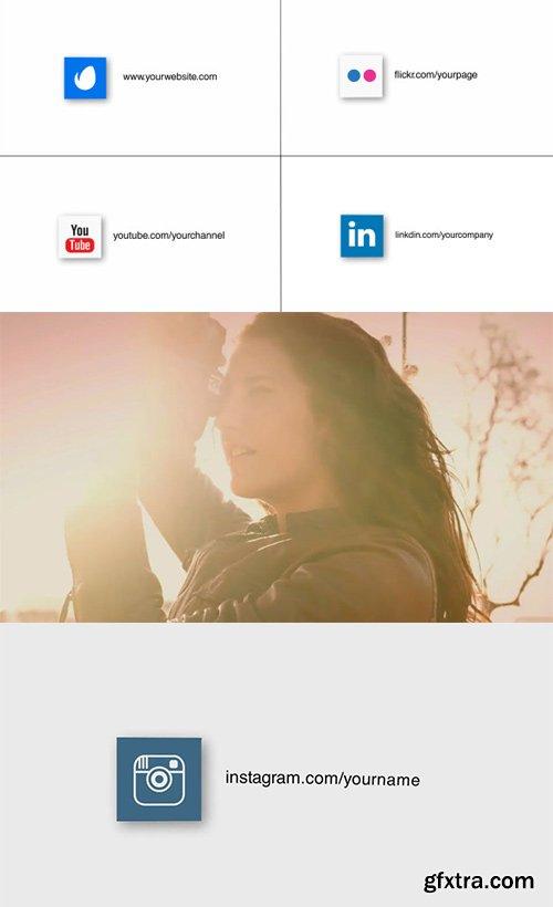 Videohive - 12482350 - Logo & Social Media Intro