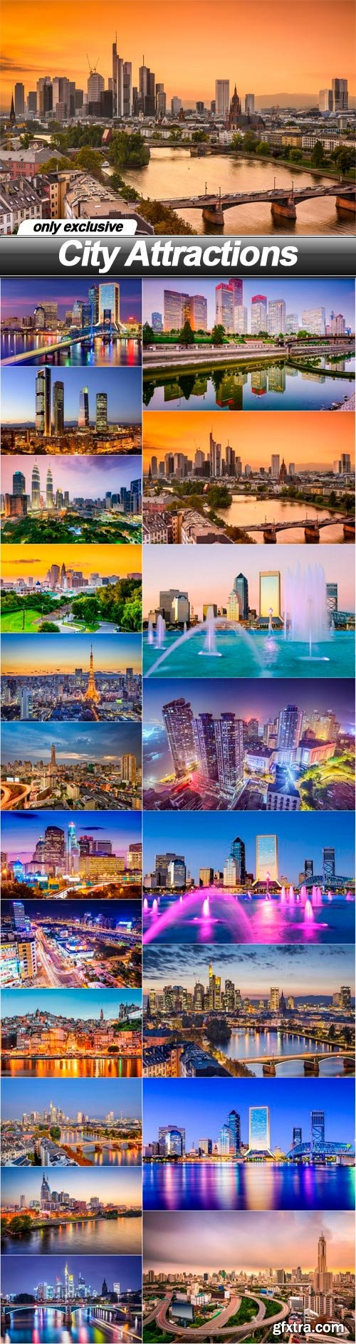 City Attractions - 20 UHQ JPEG