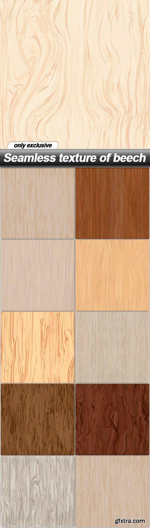Seamless texture of beech - 10 EPS