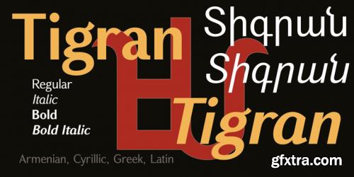 GHEA Tigran Font Family