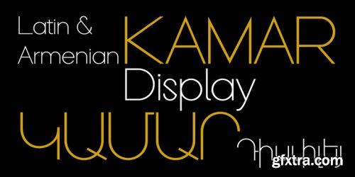 GHEA Kamar Font