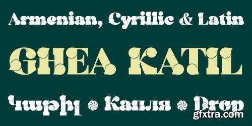GHEA Katil Font