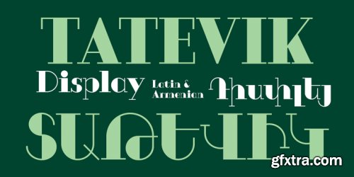 GHEA Tatevik Font