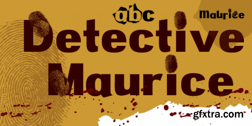 Detective Maurice Font Family