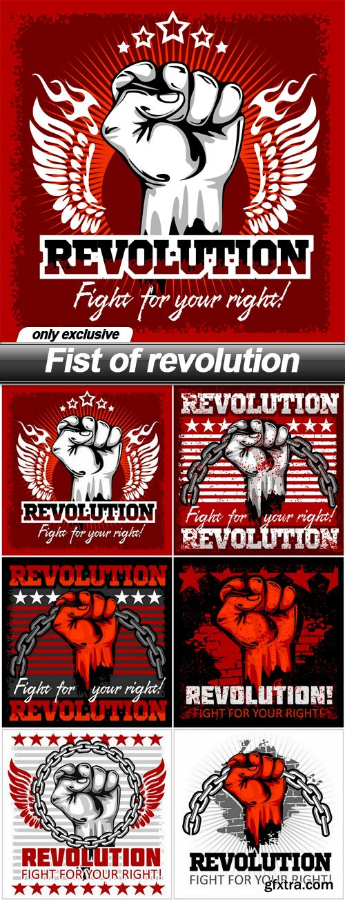 Fist of revolution - 6 EPS