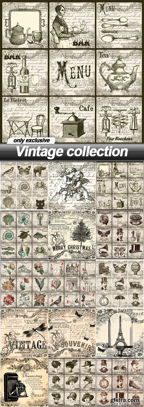 Vintage collection - 15 EPS