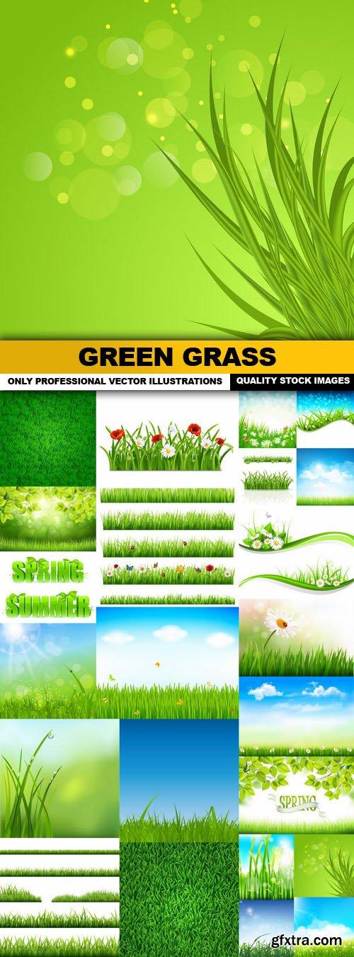 Green Grass - 25 Vector