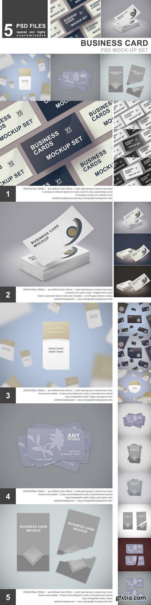 Photoshop mock ups page 464 cm business card mockup set 5 psd 511017 reheart Choice Image