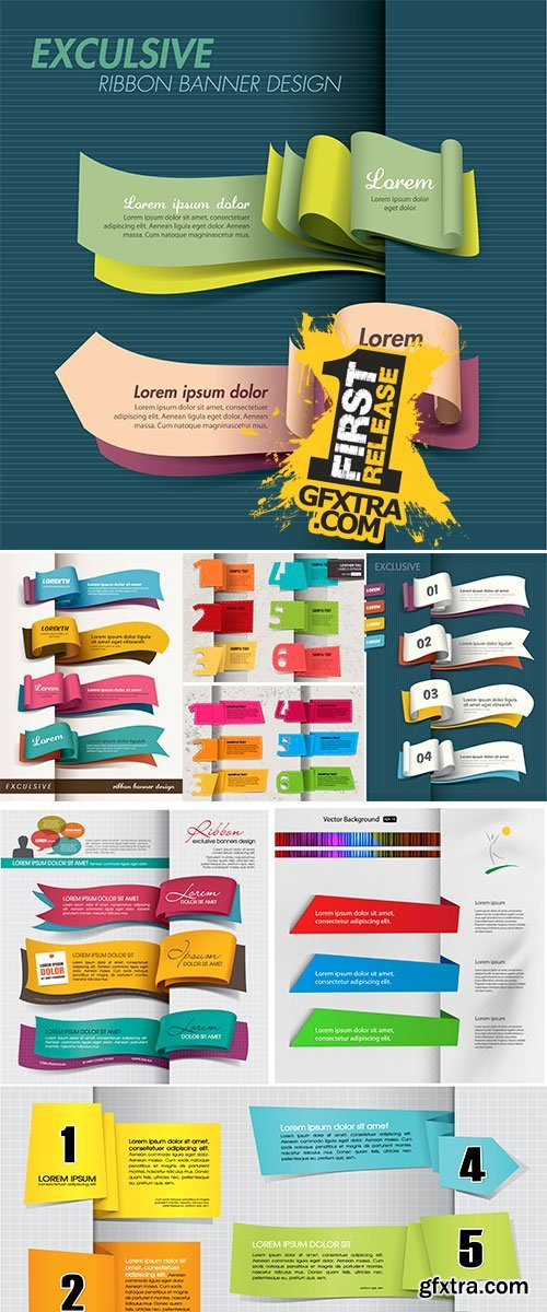 Stock Exclusive banner design vector