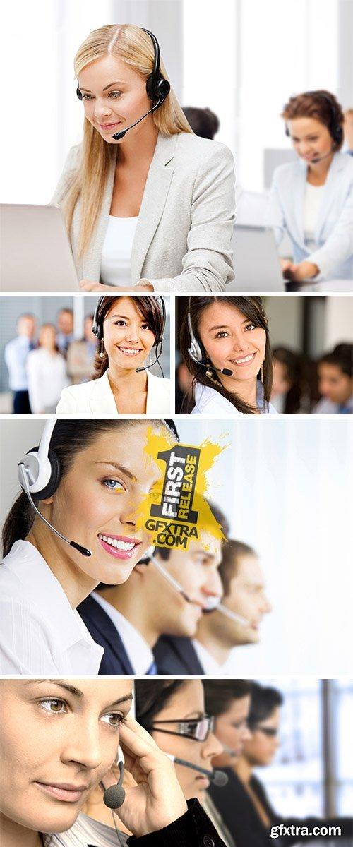 Stock Photo: Customer Support Representative