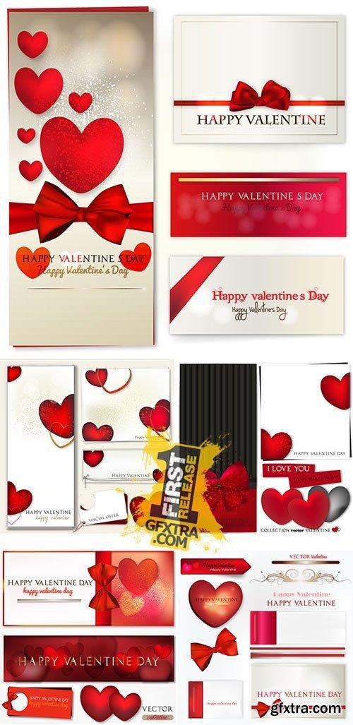 Stock: San valentino banners