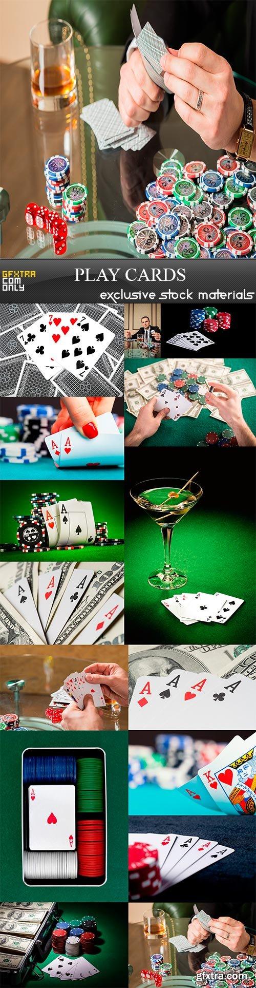 Play cards, 15 x UHQ JPEG