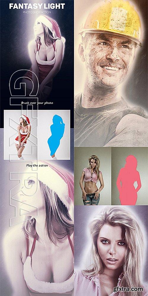 GraphicRiver - Fantasy Light Photoshop Action 14472450