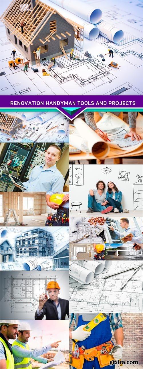 Renovation handyman tools and projects 15x JPEG