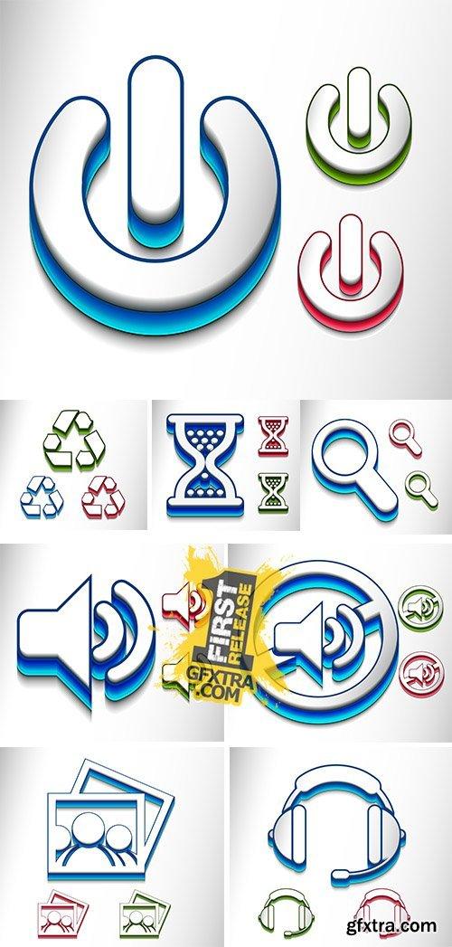 Stock: Web icon design